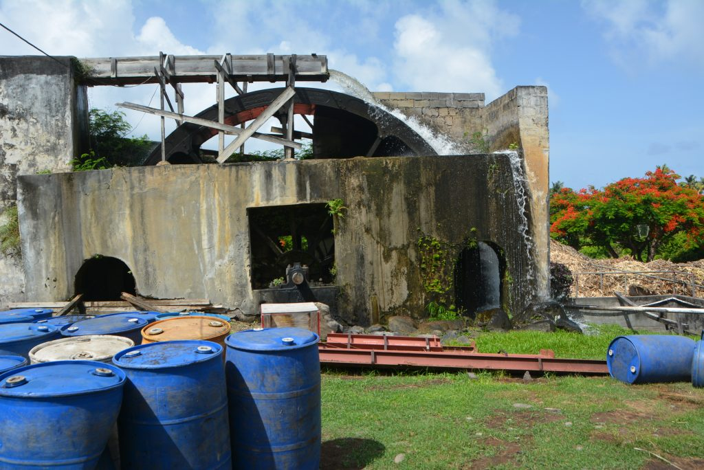 #PureGrenada: The oldest functioning water wheel in the Caribbean, found at the River Antoine Rum Distillery