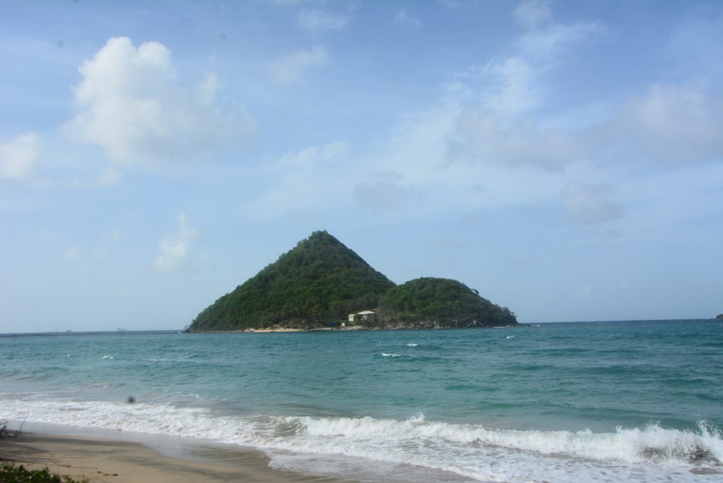 #PureGrenada: A view of Sugar Loaf island from Levera National Park.