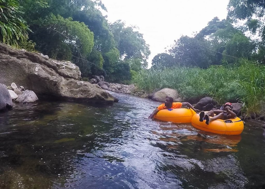 #PureGrenada: River tubing down the Balthazar River