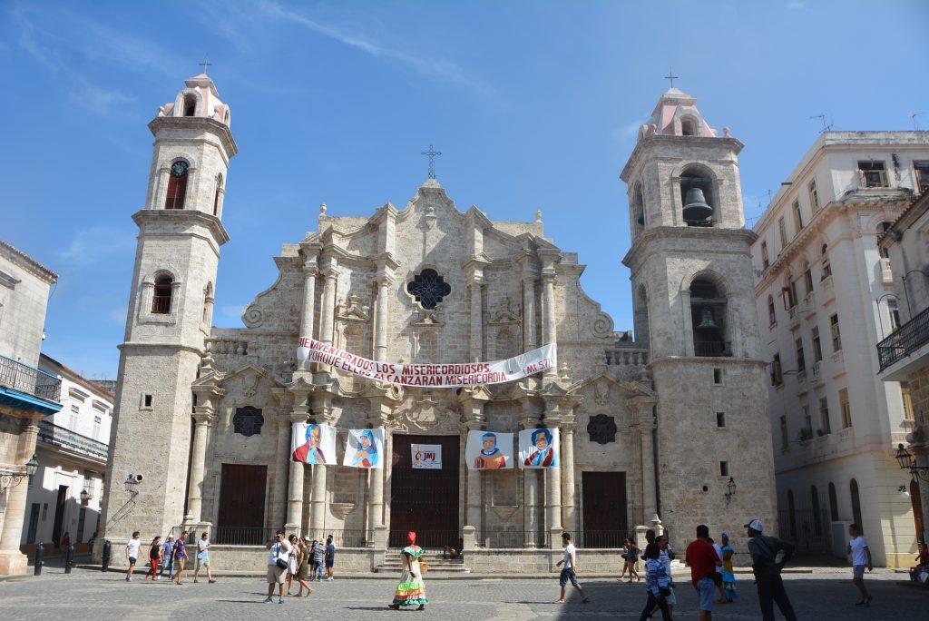 La Catedral de la Virgen María de la Concepción Inmaculada in Havanca, Cuba