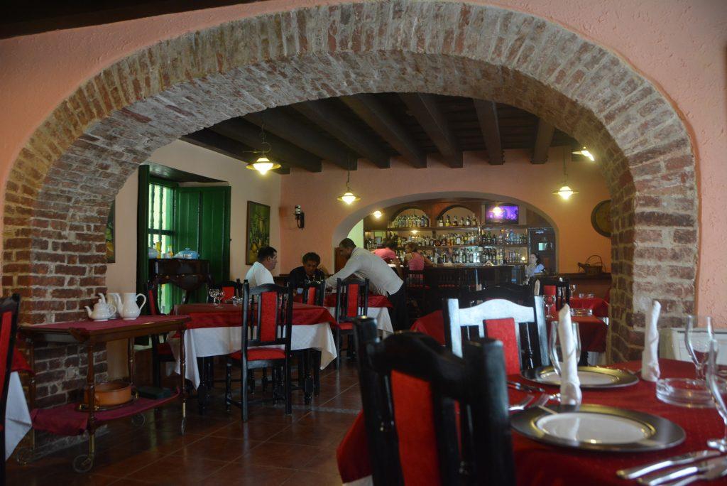 Restaurante Vuelta Abajo in Old Havana, Cuba