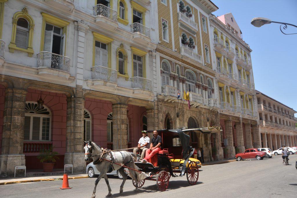 Hotel Sevilla in Old Havana, Cuba.