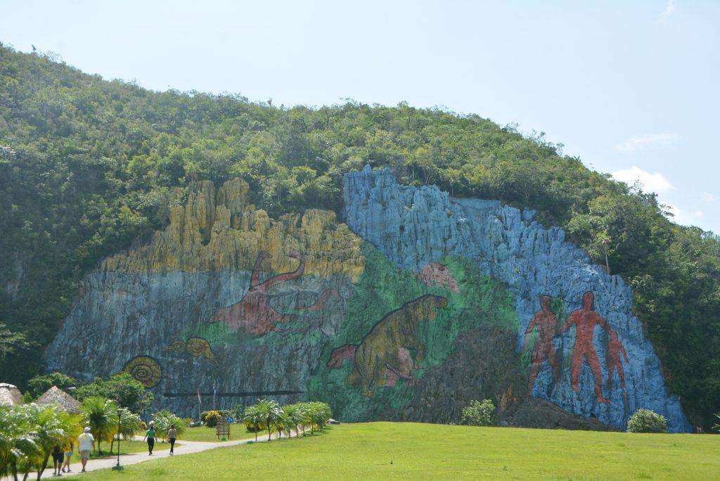 Vinales, Cuba: Mural de la Prehistoria by Leovigildo González Morillo