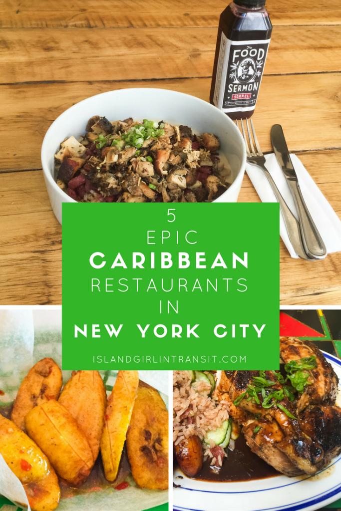 5 Epic Caribbean Restaurants in #NewYorkCity