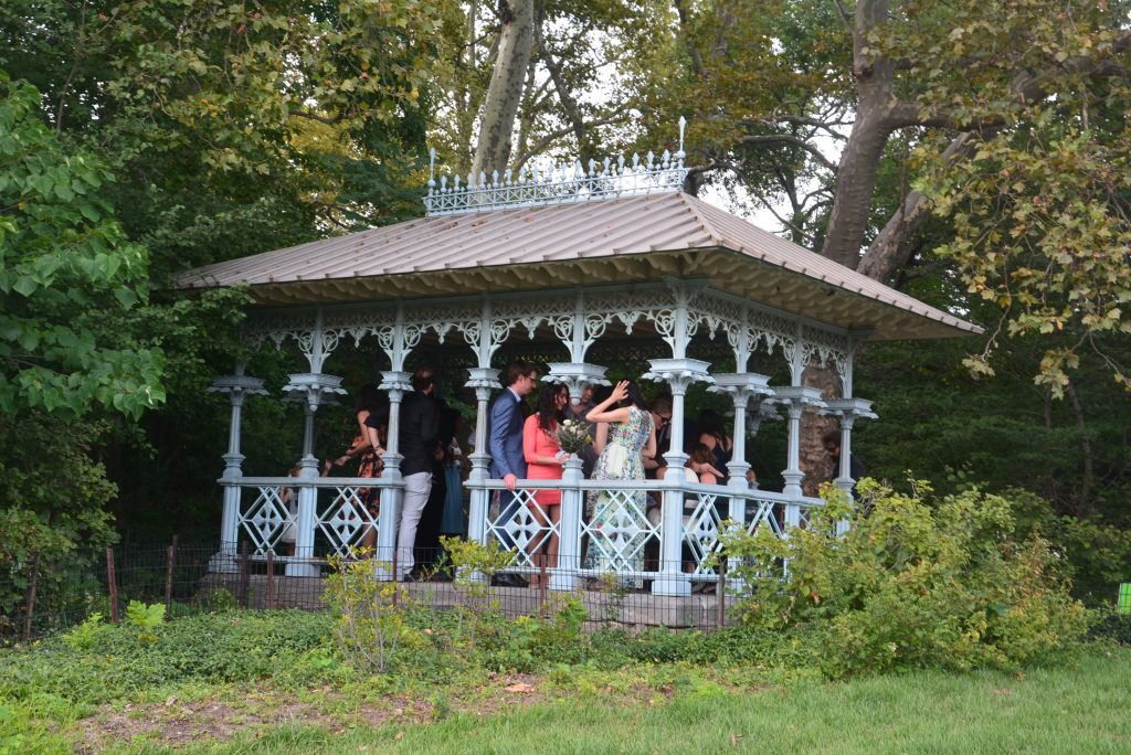 Ladies Pavillion in Central Park #NewYork