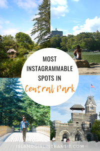 Most Instagrammable Spots in Central Park, New York City