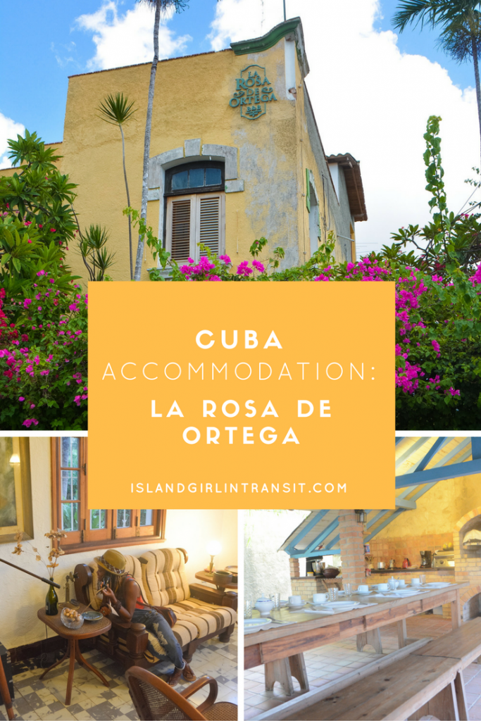 Cuba Accommodation: La Rosa de Ortega