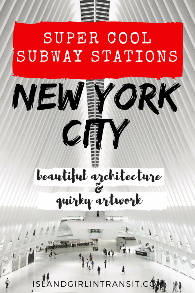 NYC Subway Stations are more than just a means of getting from one place to the next. They've got color and personality and stories to tell. Here are 5 that are attractions in their own right!