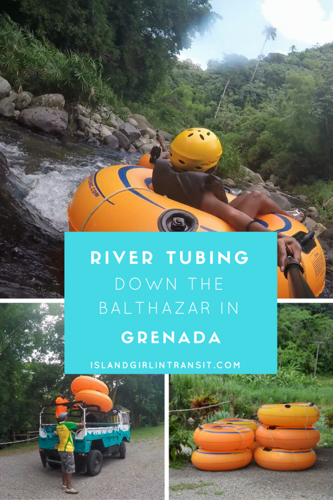#PureGrenada: Tubing down the Balthazar River in #Grenada - epic experience!