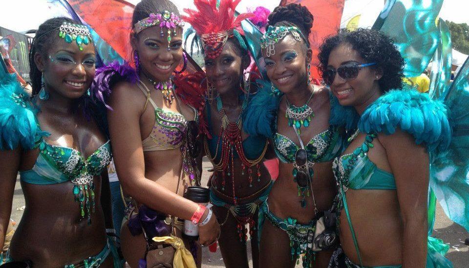 trinidad carnival 2017 a peek at my costume island girl in transit