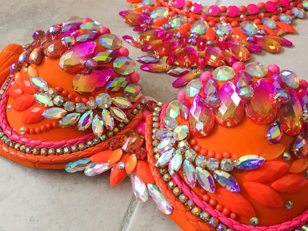 Trinidad Carnival Guide - Carnival Costume Selection. Step 4: Make sure the details are on point. #Carnival2018