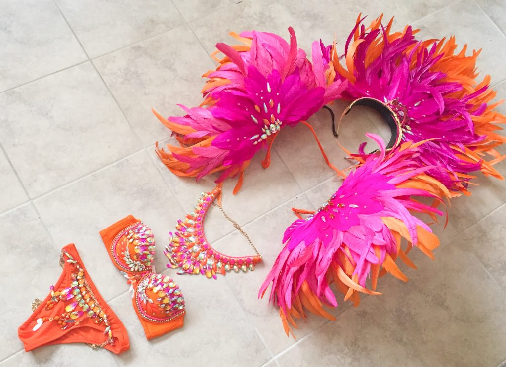 Trinidad Carnival 2017: TRIBE Carnival costume - Winterberry - Costume