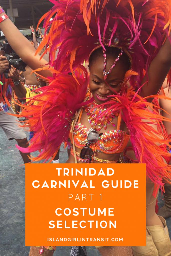 Trinidad Carnival Guide - Carnival Costume Selection. #Carnival2018