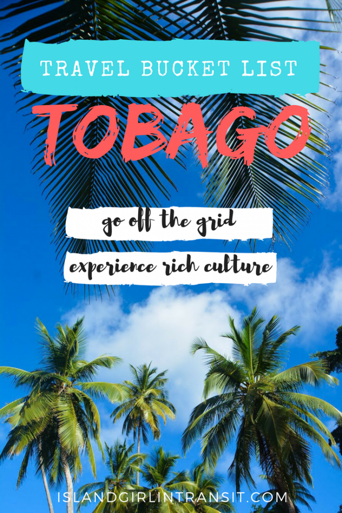 Travel Bucket List: Secluded beaches, vibrant nature and rich cultural experiences...all reasons why #Tobago should be on your travel bucket list.
