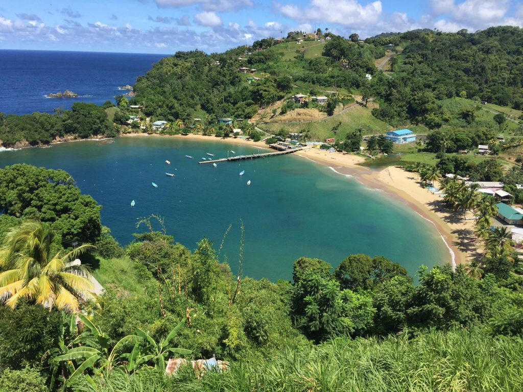 Tobago Beach: Parlatuvier Bay