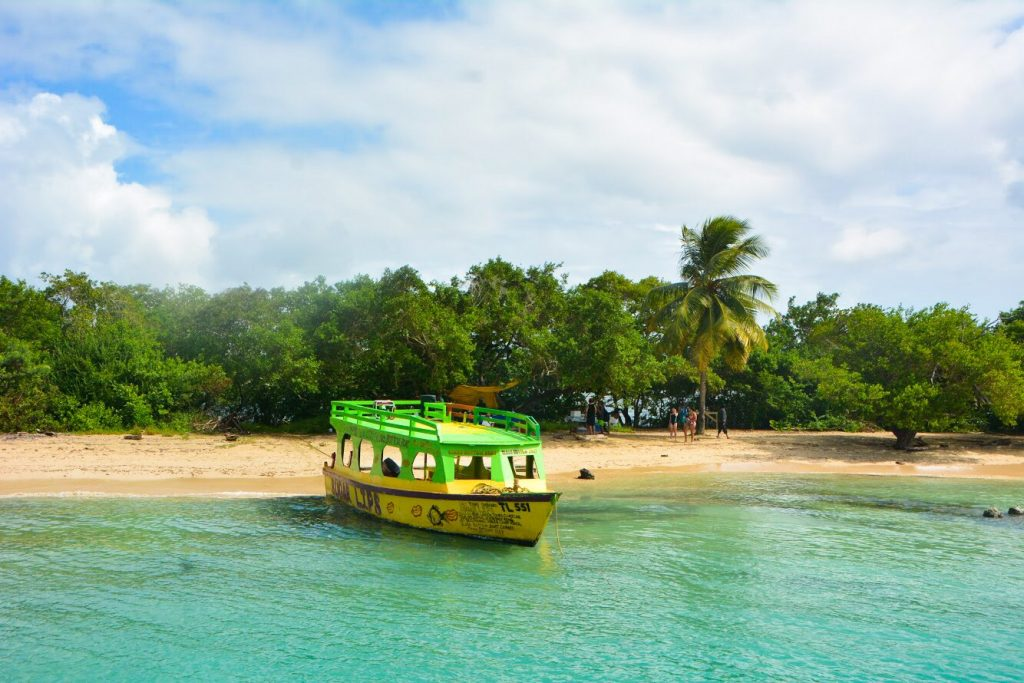 Best Beaches in Tobago: No Mans Land