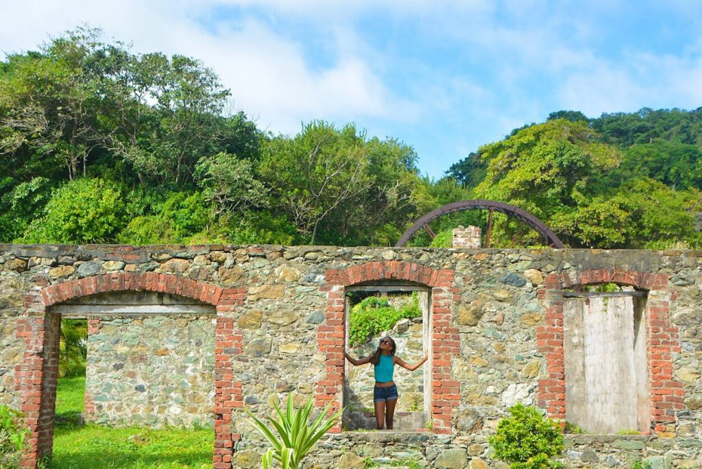 Tobago Road Trip: Speyside Estate Ruins