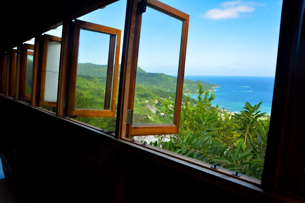 Tobago Road Trip: Speyside Overlooking Restaurant and Bar