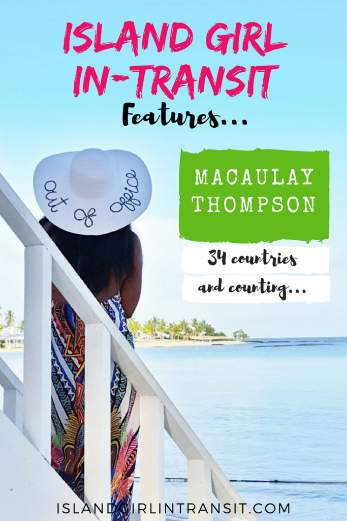 Macaulay Thompson is a Jamaica-born, US-based travel blogger. A true Island Girl In-Transit, she's checked 34 countries off her travel bucket list and she's got plans to visit and explore many more. If you're looking for travel inspiration check out her Island Girl travel story here and be sure to visit her blog My Travel Stamps for great tips and destination insights!
