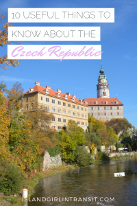 Here are 10 charming, quirky and useful things you should know about the Czech Republic, a country rich in history and full of gorgeous views.