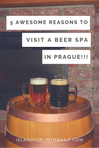 European Travel: Beer Spa in Prague