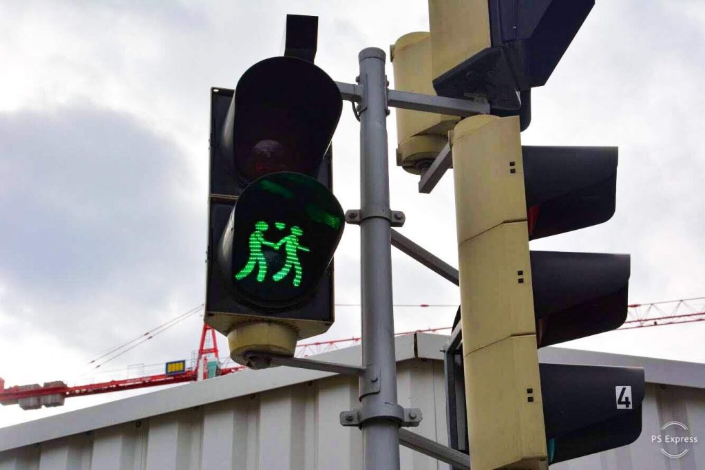 Things to do in Vienna: Diversity Crossing Lights