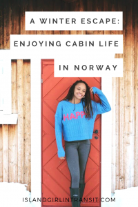 A Winter Escape: Enjoying Cabin Life in Norway