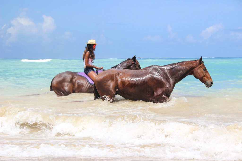 Being with Horses: Horseback Riding in Tobago