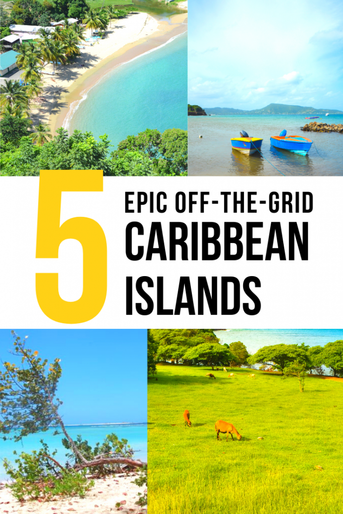 Off the grid Caribbean Islands