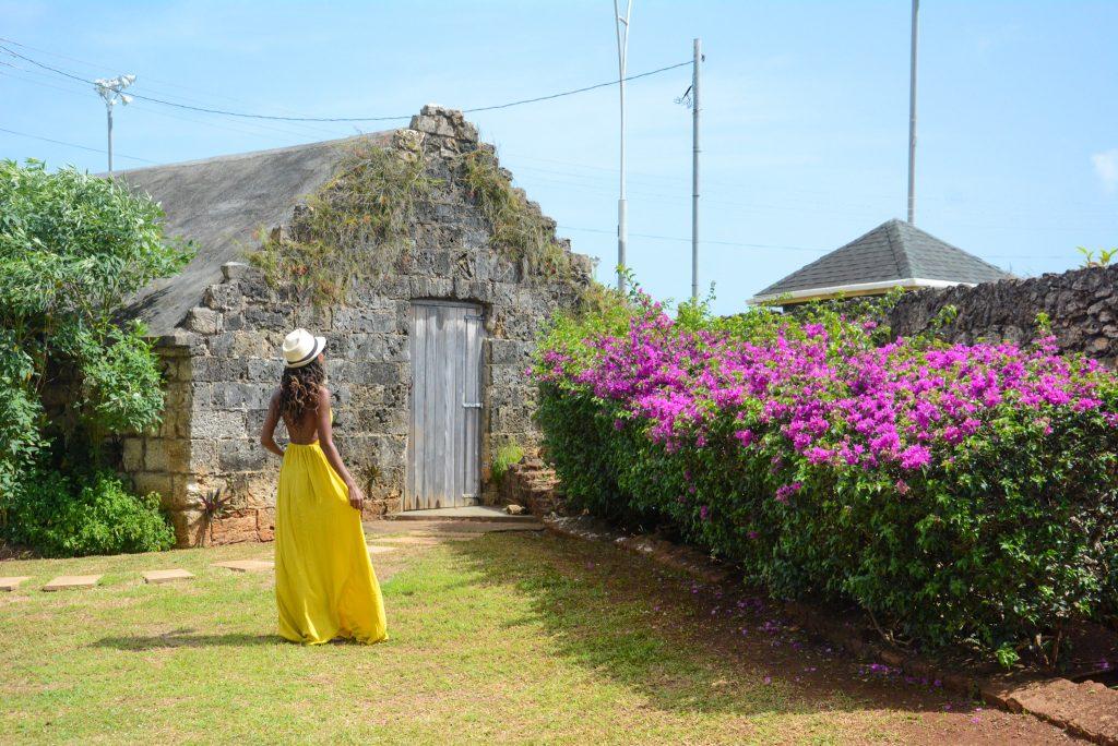 Fort James in Tobago