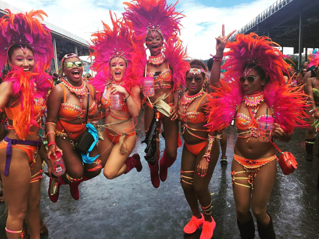 Trinidad Carnival: Crossing the stage