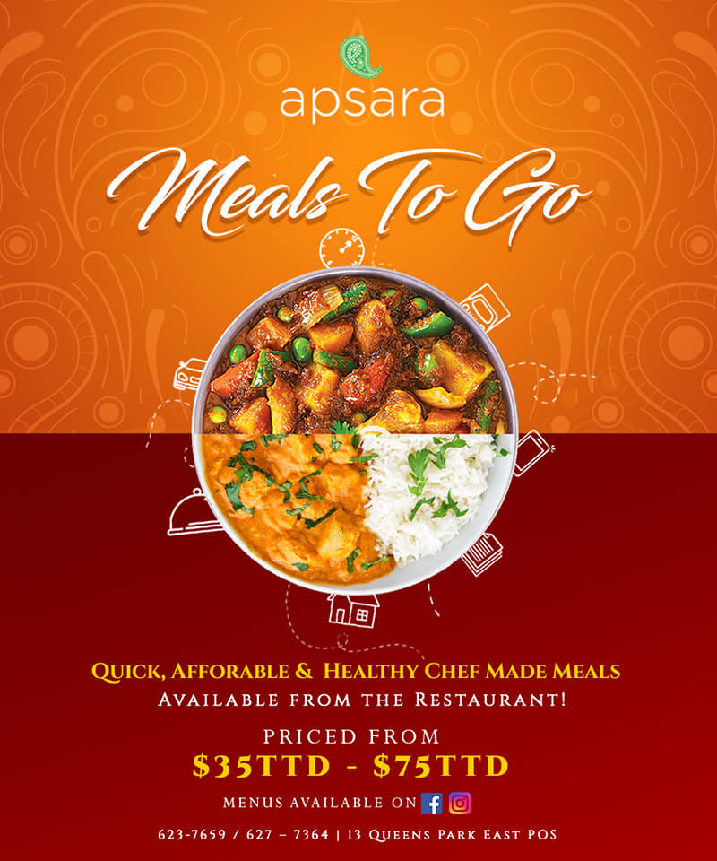 Apsara food delivery in Trinidad