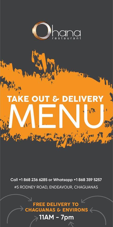 Ohana Food delivery Trinidad