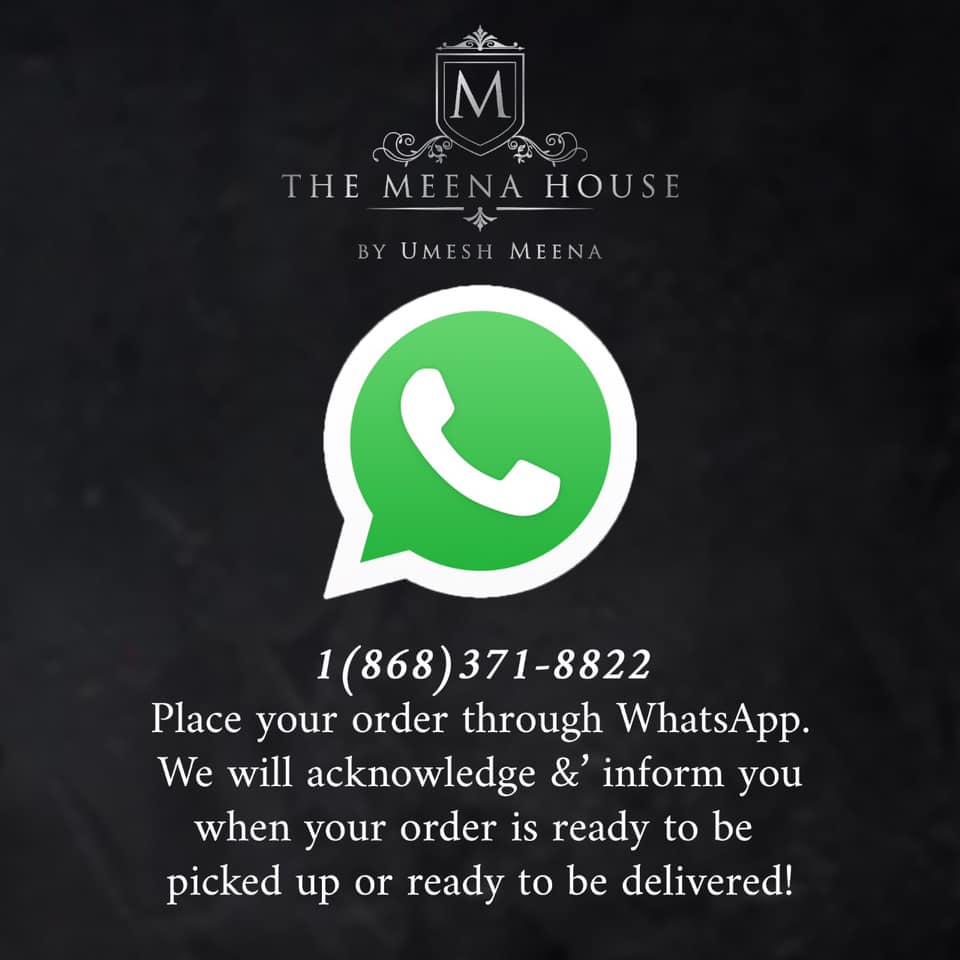 Meena House: Dine-in restaurant open in Trinidad