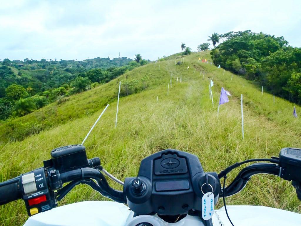 ATV in Black Rock Tobago