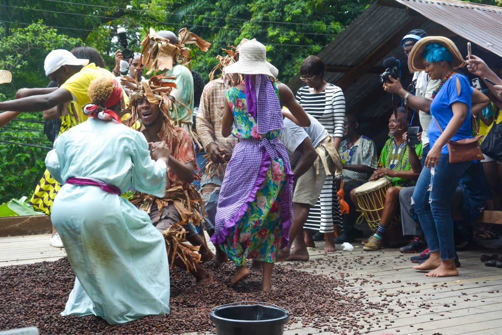 Tobago Experiences: Dance the cocoa