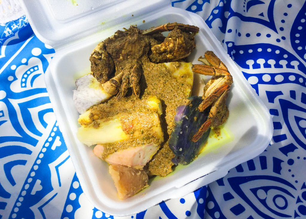 Experience Tobago: Curry Crab & Dumpling