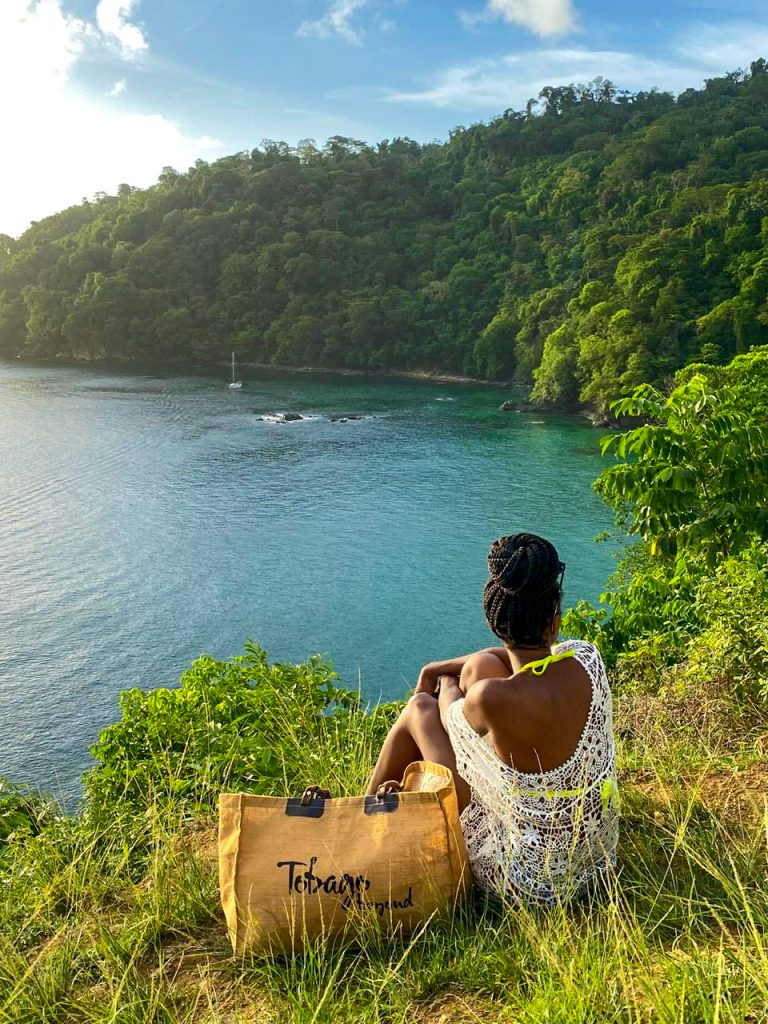 Pirate's Bay lookout point in Tobago