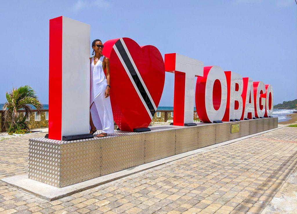 Tobago sign in Scarborough