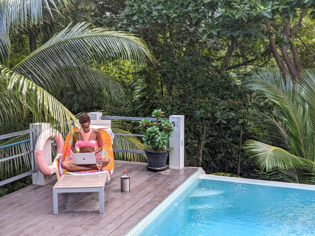 Tobago Airbnbs for Remote working Firefly villa