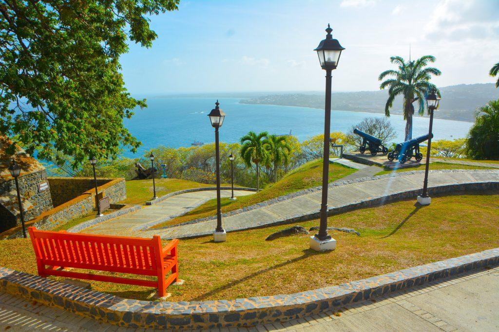 Best Views in Tobago: Fort King George
