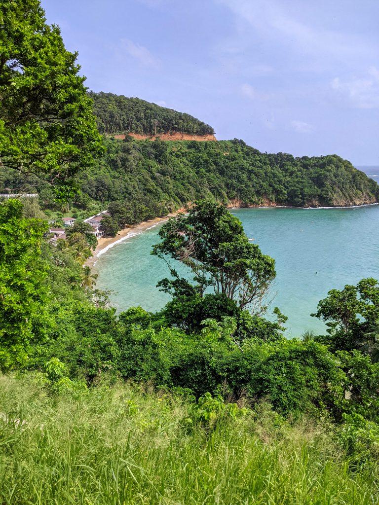 Best Views in Tobago: Batteaux Bay