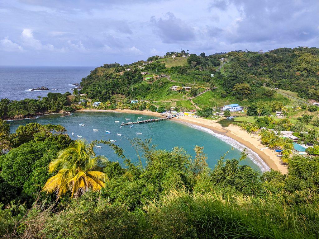 Best Views in Tobago: Parlatuvier Bay