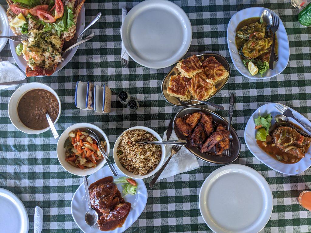 Tobago Road Trip: Lunch at Jemma's