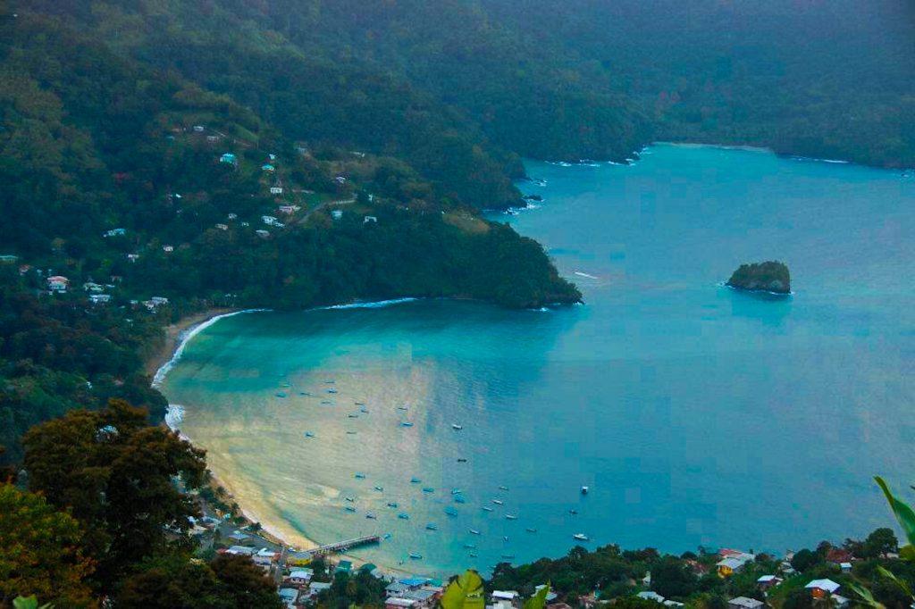 Best Views in Tobago: Flag Staff